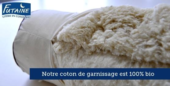 Oreiller en coton bio